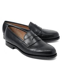 Brooks Brothers | Black Peal & Co.® Penny Loafers for Men | Lyst