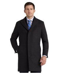 Brooks Brothers Brown Wool Vernon Top Coat for men