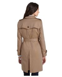 Brooks Brothers - Natural Cotton Trench Coat - Lyst