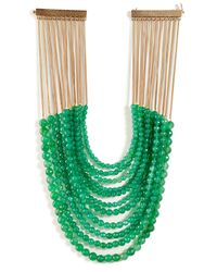 Rosantica | Raissa Necklace with Green Jade | Lyst