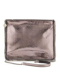 Stella McCartney Falabella Medium Crossbody Bag Gray