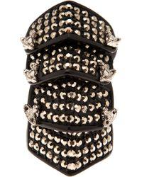 Vivienne Westwood | Black Armour Ring | Lyst
