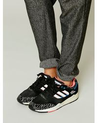 Free People | Black Court Trainer | Lyst