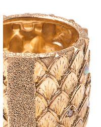 Carolina Bucci | Metallic Diamond Opal and Gold Feather Ring | Lyst