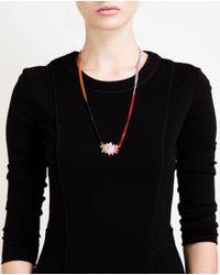 Ambush Multicolor Pow Pendant Necklace