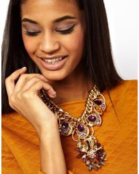 Jeffery West - Metallic Premium Dragon Charm Necklace - Lyst