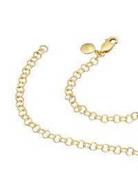 Monica Vinader | Metallic Mini Lungo Chain Necklace | Lyst