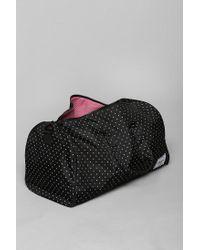 Urban Outfitters Black Herschel Supply Co Novel Polka Dot Weekender Bag for men
