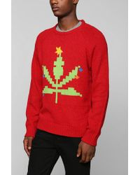 Urban Outfitters - Red Character Hero Light Sweater for Men - Lyst