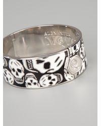 Alexander McQueen | Black 'skull' Bangle | Lyst