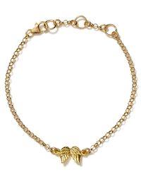 Dogeared - Metallic Guardian Angel Bracelet - Lyst