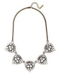 BaubleBar | Metallic Crystal Holly Necklace | Lyst