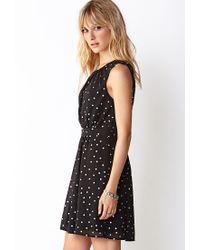 Forever 21 Black Contemporary Favorite Polka Dot Dress