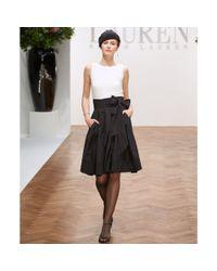 Lauren By Ralph Lauren Dress Pleated Cocktail Dress In