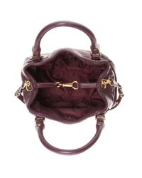 Marc By Marc Jacobs Brown Fran Texturedleather Tote
