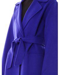 Max Mara - Blue Feltre Coat - Lyst