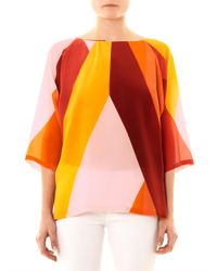 Max Mara - Pink Celebre Blouse - Lyst