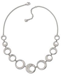 Swarovski - Metallic Ragtime Necklace - Lyst