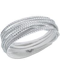 Swarovski | Gray Slake Bracelet | Lyst