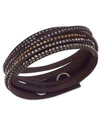 Swarovski | Black Slake Bracelet | Lyst