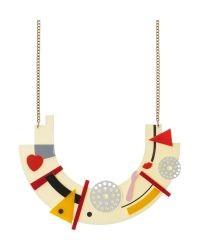 Tatty Devine - Multicolor Avant Garde Robot Bib Necklace - Lyst