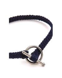 Yuvi | Blue Japanese Cord Bracelet for Men | Lyst