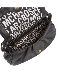 Marc By Marc Jacobs - Black Ulkita Grained Leather Shoulder Bag - Lyst