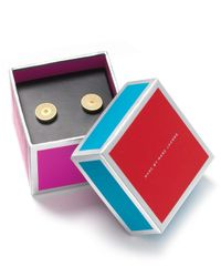 Marc By Marc Jacobs - Natural Exclusive Stud Earrings - Lyst