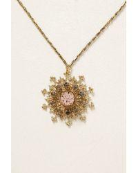 Anton Heunis - Metallic Arrowed Snowflake Necklace - Lyst