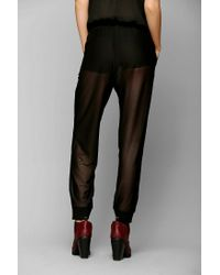 Urban Outfitters - Black Silence Noise Allover Mesh Lounge Pant - Lyst