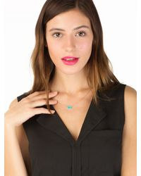 BaubleBar - Multicolor Acrylic Area Code Pendant Ships in 1 Week Order By April 30 For Mothers Day Delivery - Lyst
