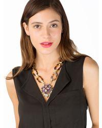 BaubleBar | Blue Tortoise Crystal Jasmine Pendant | Lyst