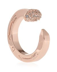 Giles & Brother - Pink Pave Railroad Spike Ring - Lyst
