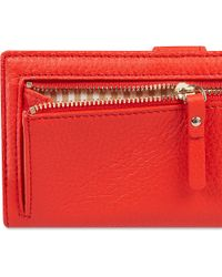 kate spade new york Red Cobble Hill Stacey Wallet