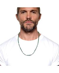 Lulu Frost - Metallic George Frost Morse Necklace Luck for Men - Lyst