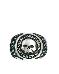 Criminal Damage - Metallic Reclaimed Vintage Harley Signet Ring for Men - Lyst