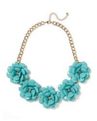 BaubleBar | Blue Jumbo Bloom Bib | Lyst