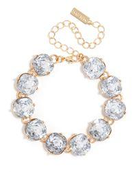 BaubleBar | Blue Cushion Cut Bracelet | Lyst