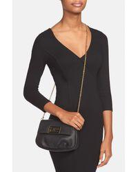 Fendi | Black 'sta' Pouchette Crossbody Bag | Lyst