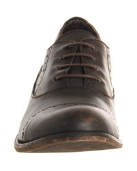 Fly London - Brown Wela Brogue Shoe for Men - Lyst