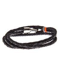 Miansai - Blue Trice Braided Leather Bracelet for Men - Lyst