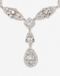 Nadri - Metallic Lavish Y Necklace 16 - Lyst