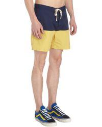 Saturdays NYC - Blue Ennis Board Shorts for Men - Lyst