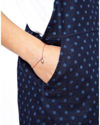 Cambridge Satchel Company - Pink Cath Kidston Star Cord Bracelet - Lyst