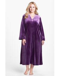 Oscar de la Renta | Purple Zahara Nights Robe | Lyst