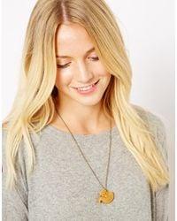 Tatty Devine   Orange Fox Necklace   Lyst