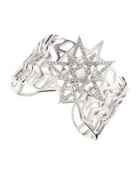 Eddie Borgo | Metallic Pentagram Cuff | Lyst