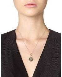 Armenta | Metallic Diamond Heraldry Medallion Pendant | Lyst