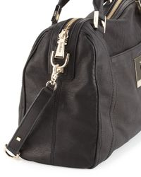 Botkier Black Keyhole Satchel Bag