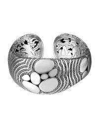 John Hardy Metallic Kali Zen Silver Cuff